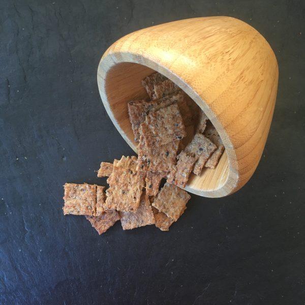 Crackers tomme d'anjou nigelle
